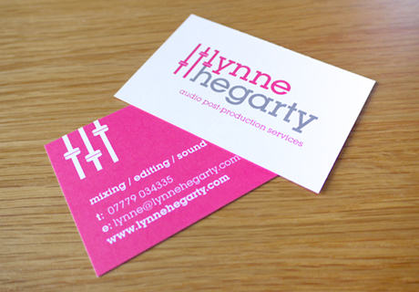Lynne Hegarty Business Cards
